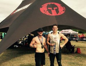 JB Bennett and Mitch at Spartan Race