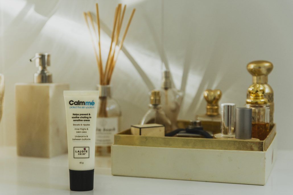 LAJOIE SKIN: Calmmé prevent and soothe chafing in sensitive areas.