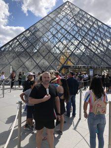 Calmmé antichafe cream at the Louvre in Paris