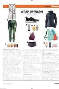 Women's running magazine and Calmmé