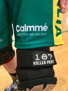 Calmmé antichafing cream roller derby Australian team shorts