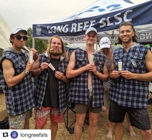 Surf boat rowers sponsorship
